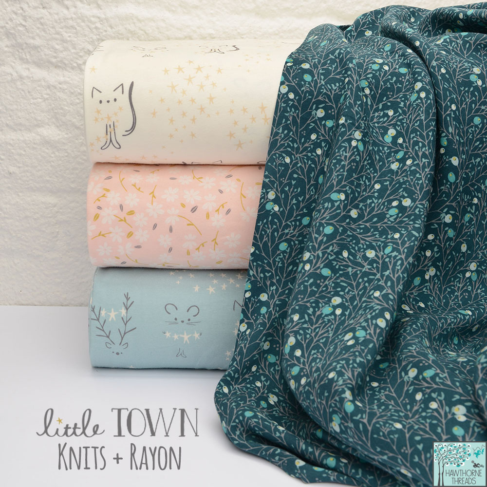 Little Town Knits and Rayon 2