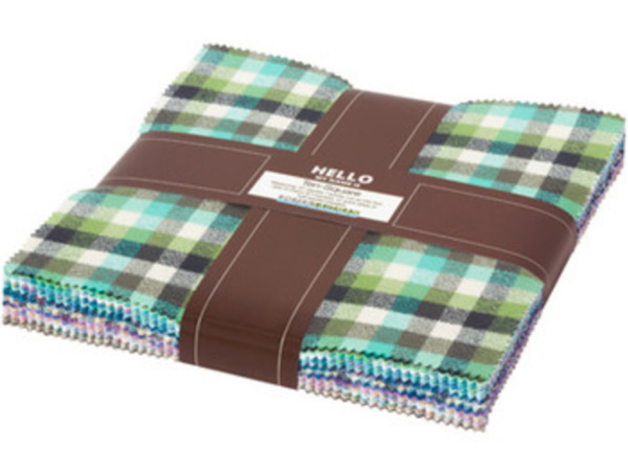 Screenshot 2020-09-25 Mammoth Junior Flannel 10 Charm Pack in Cool - Hawthorne Supply Co