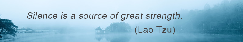 Silence-source-of-strength