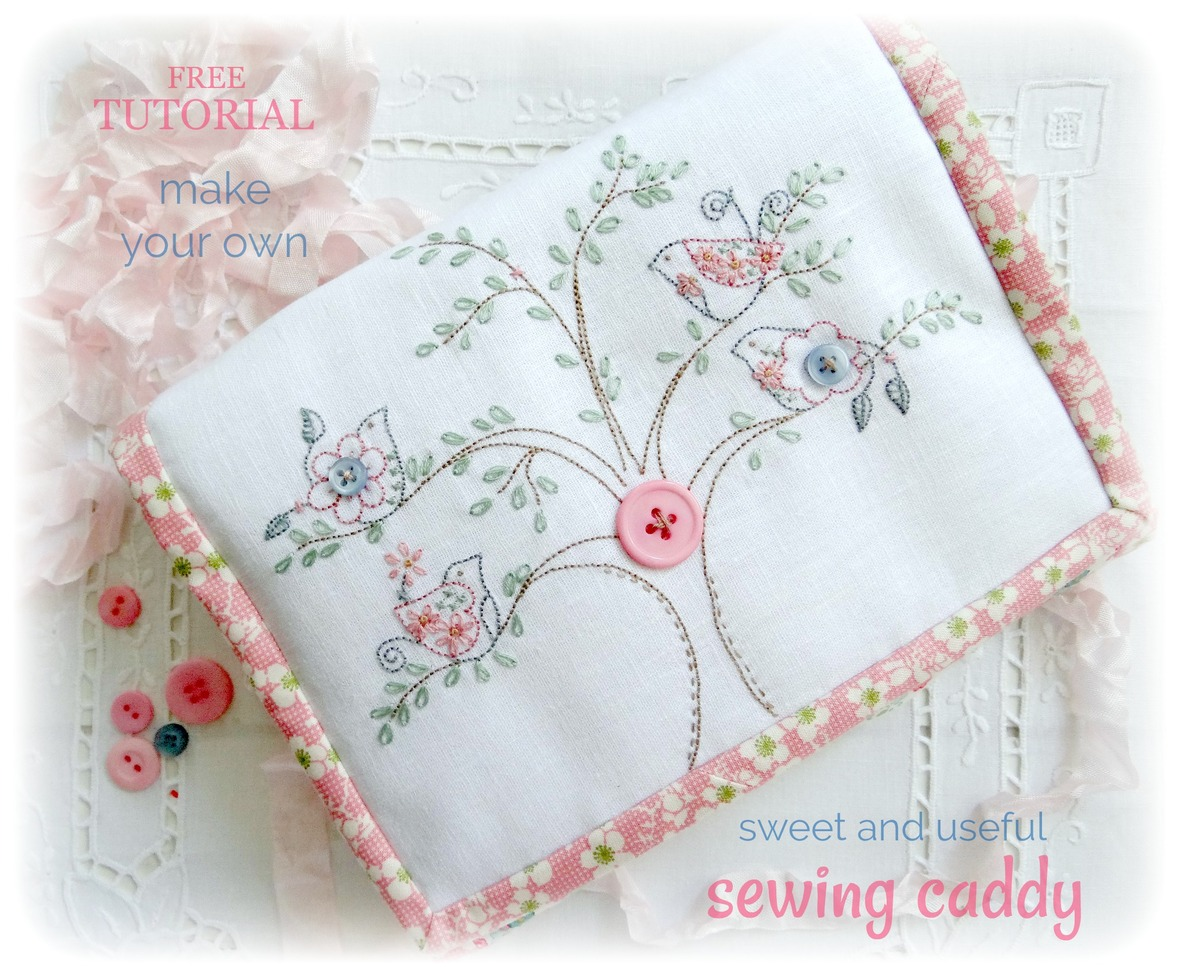 Tutorial The Sweet Useful Sewing Caddy