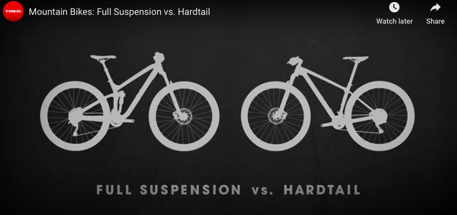 Trek Full Suspension vs Hardtail 2