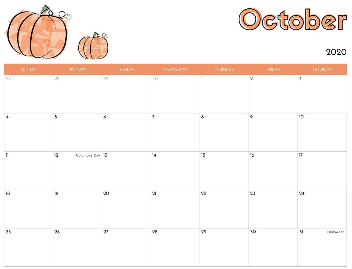 Cute-Calendar-For-October-2020