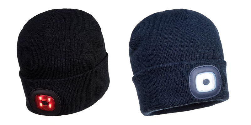 Twin-LED-Beanie