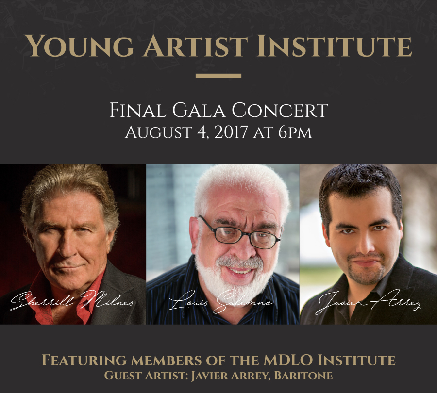 MDLO Young Artist Institute 2017 Gala