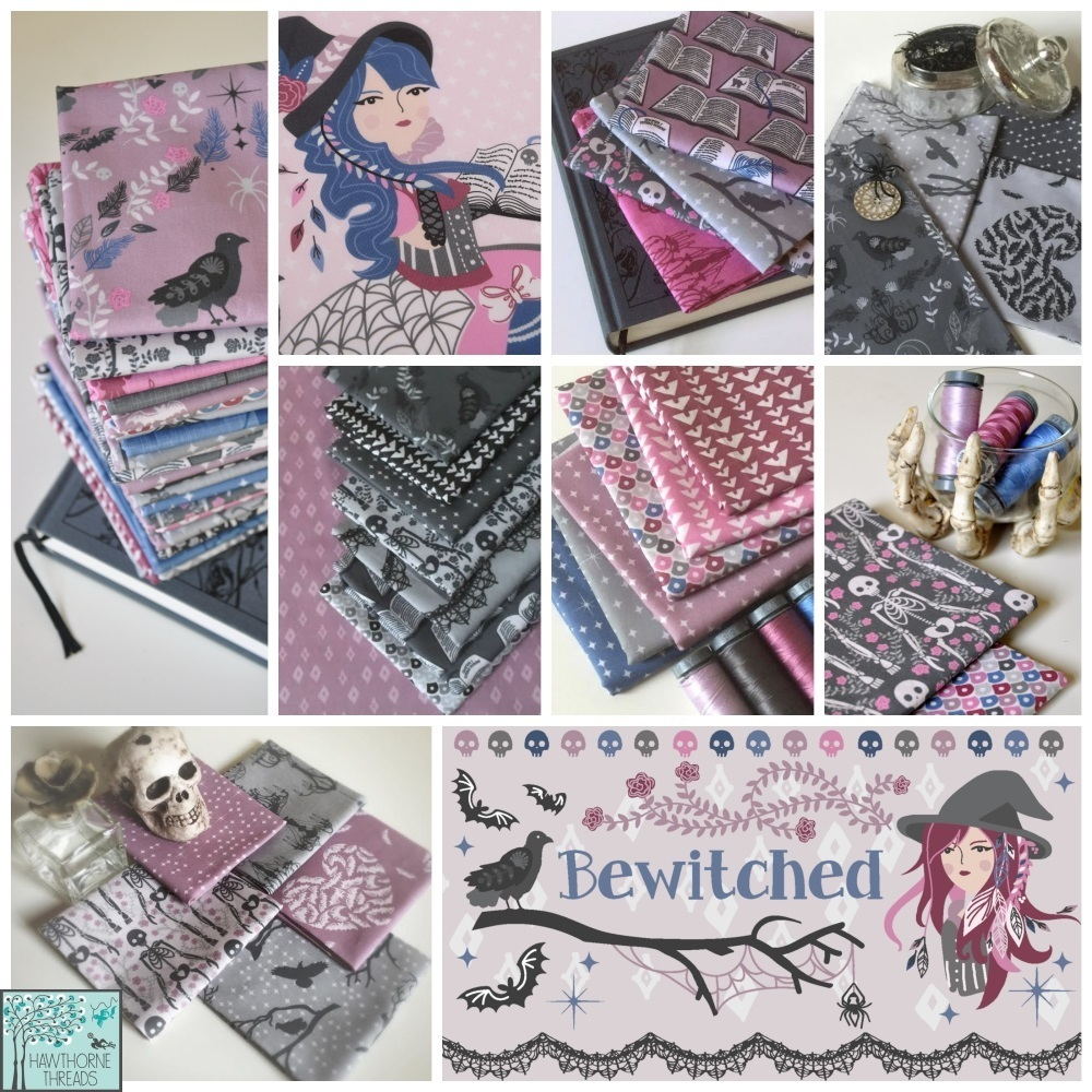 Bewitched Fabric Poster