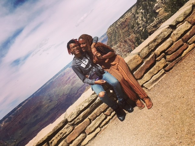 Myanna and Mommy GrandCanyon