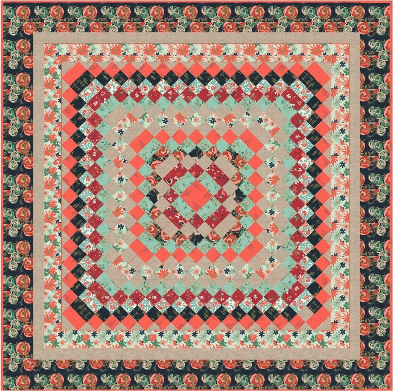Woodlands Fusion Quilt Pattern
