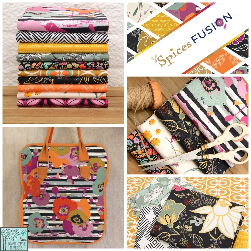 Spices Fusion Art Gallery Fabric