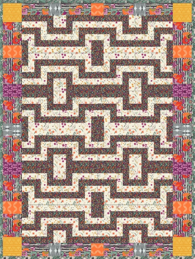 Spices Quilt Pattern