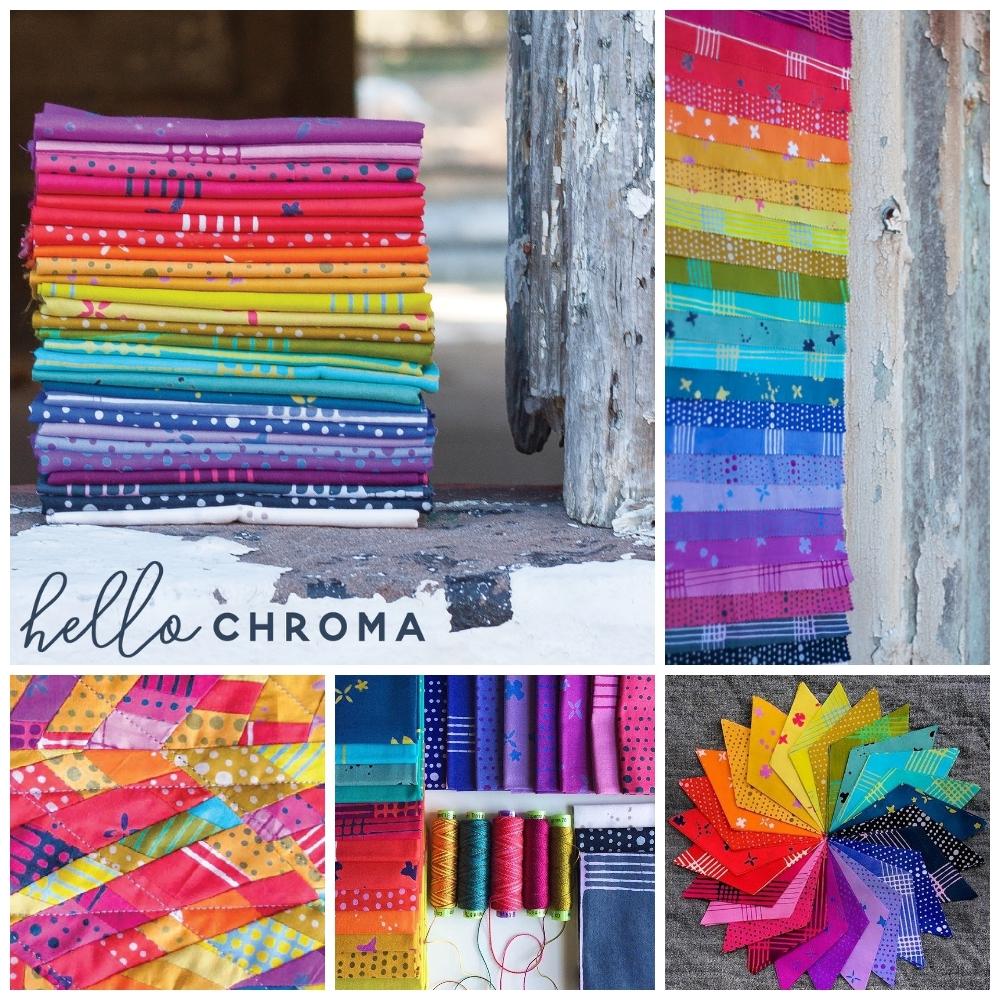 Chroma Fabric Alison Glass