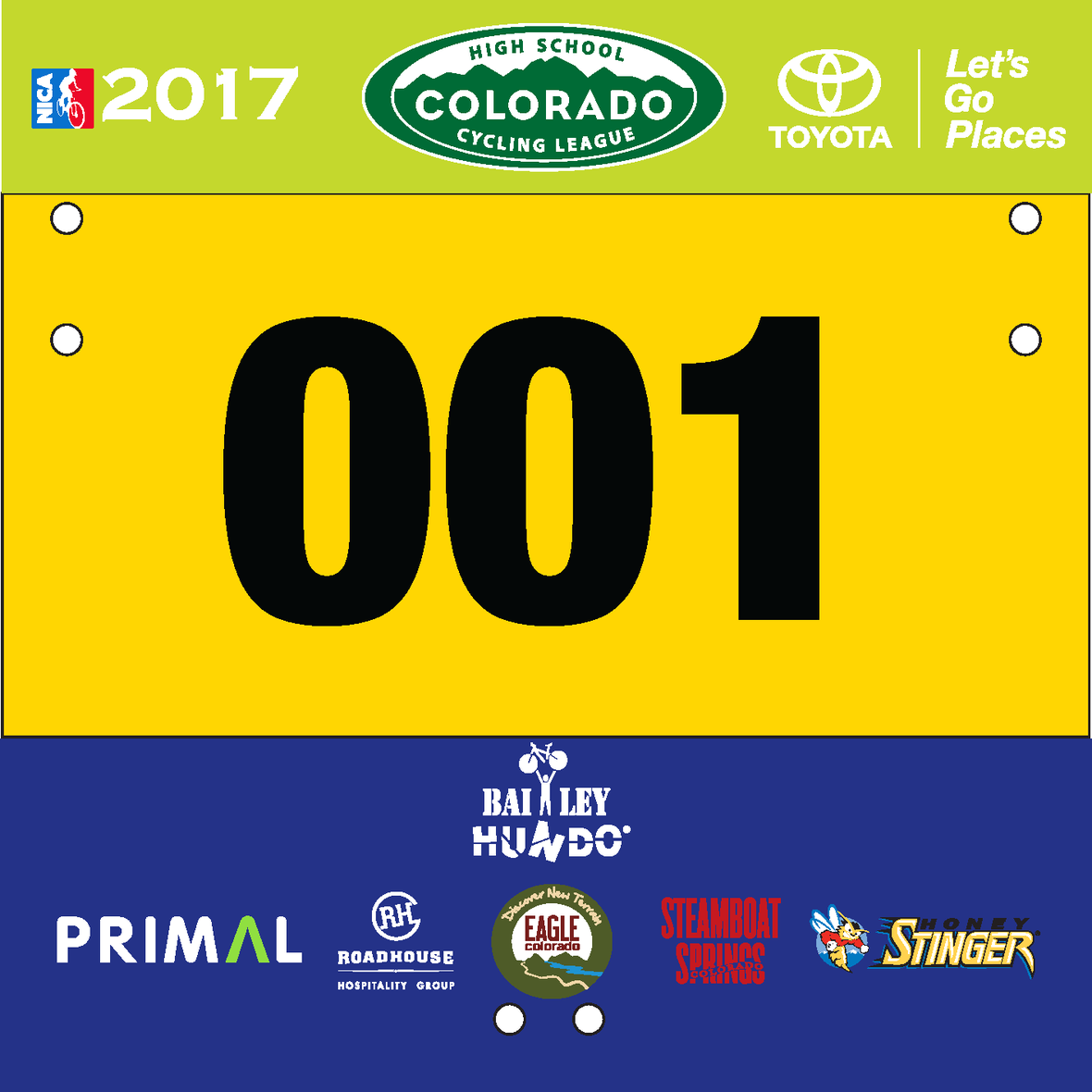 2017 North Conference Legacy Plates Mockup