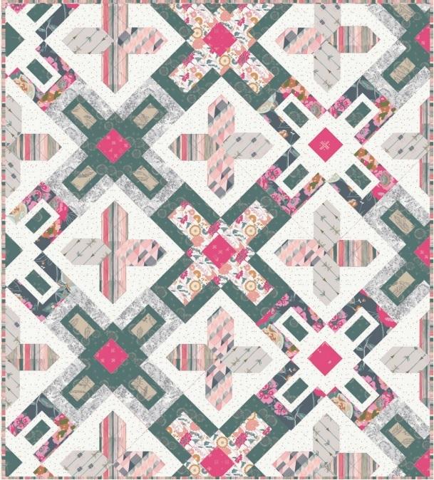 Bachelorette Fusion Fabric Quilt