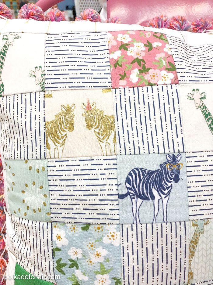 polkka dot chair- blog sparkle-zebra-fabric-700x934