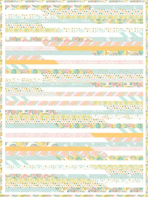 Reverie Fusion Quilt Pattern