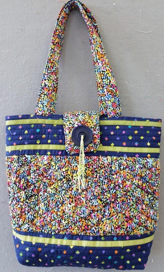 heavenly textured handbag