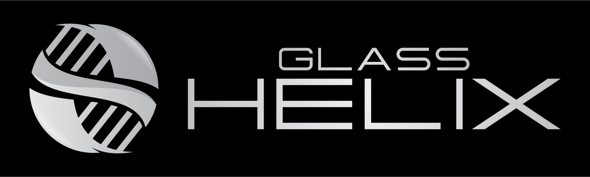 Glass Helix Logo rectangle