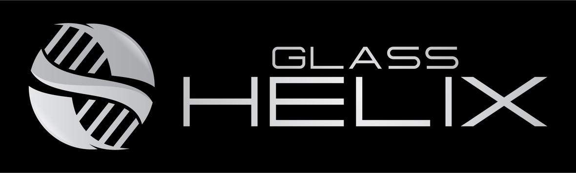 Rectangle du logo Glass Helix