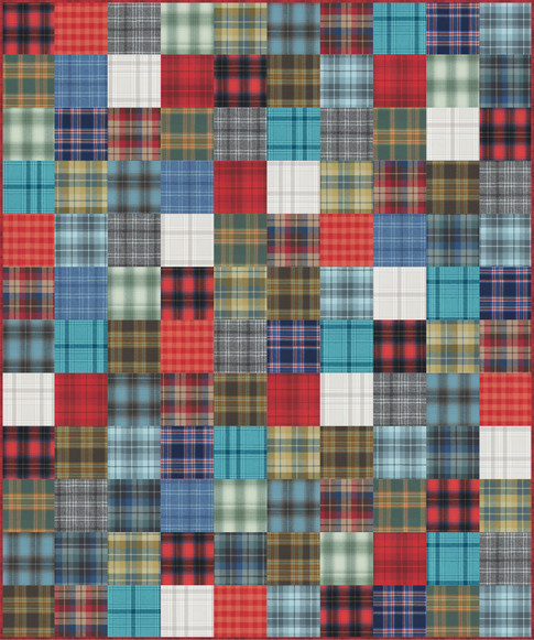 MammothFlannel SimpleSquares NewColors2020
