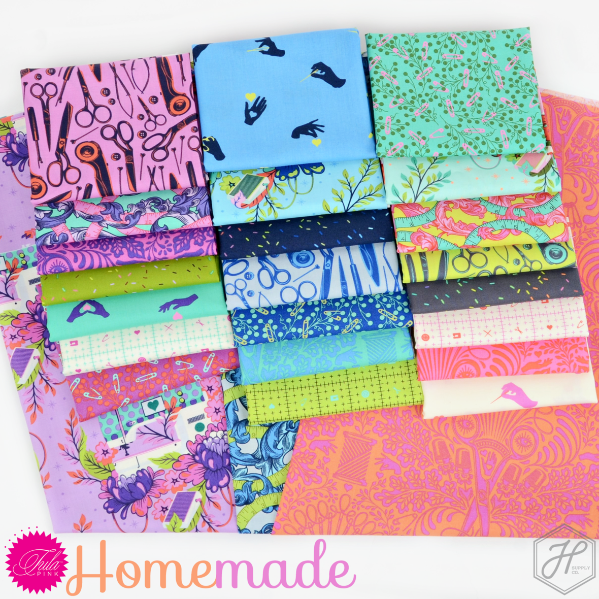 Tula Pink Homemade Fabric for Free Spirit at Hawthorne Supply Co