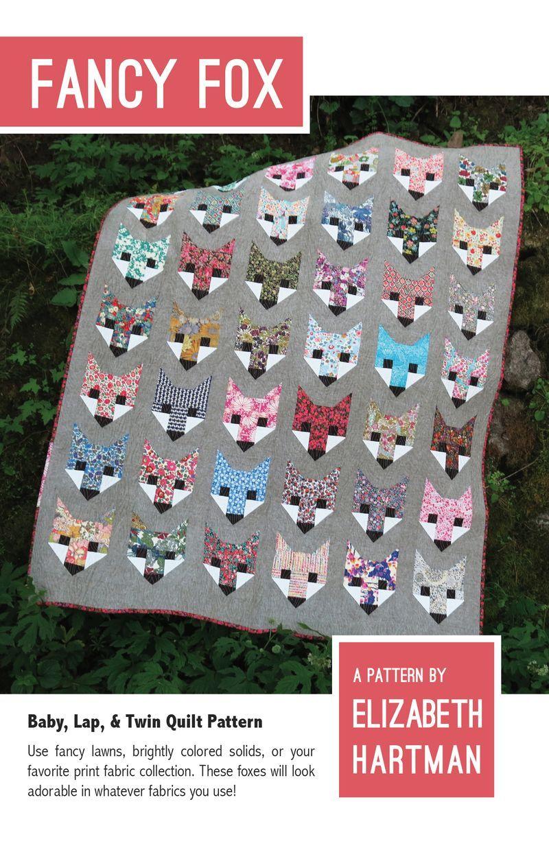 elizabeth hartman fancy fox sewing pattern