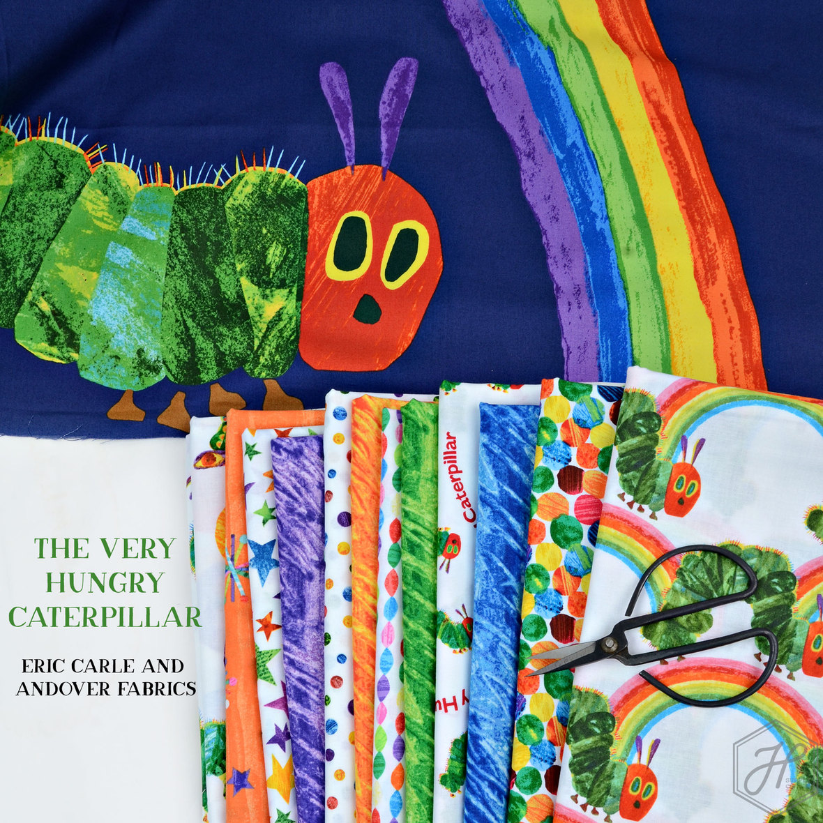 The-Very-Hungry-Caterpillar-Eric-Carle-Fabric-for-Andover-at-Hawthorne-Supply-Co