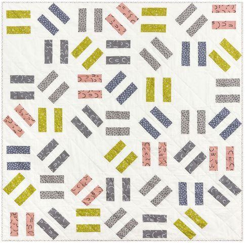 Robert Kaufman- double dash quilt