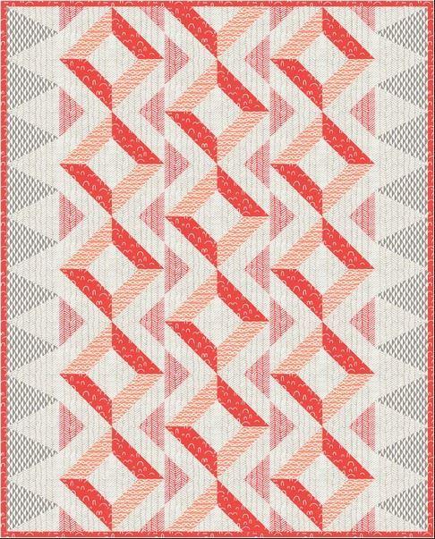 Robert kaufman paseo desert- quilt pattern