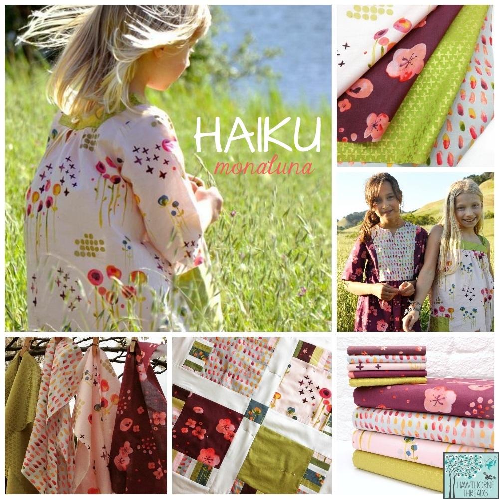 Haiku Fabric Poster