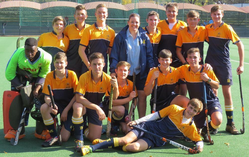 MHS u.16 Noordvaal team