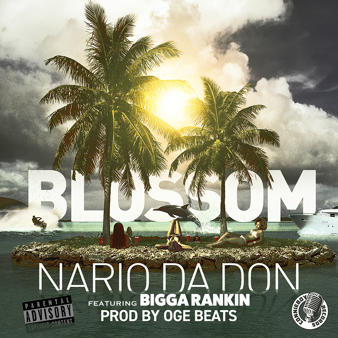 Nario Da Don - Blossom ft Bigga Rankin Explicit Front copy