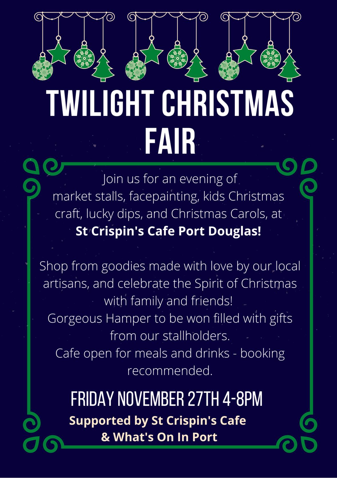 Twilight Christmas Fair poster