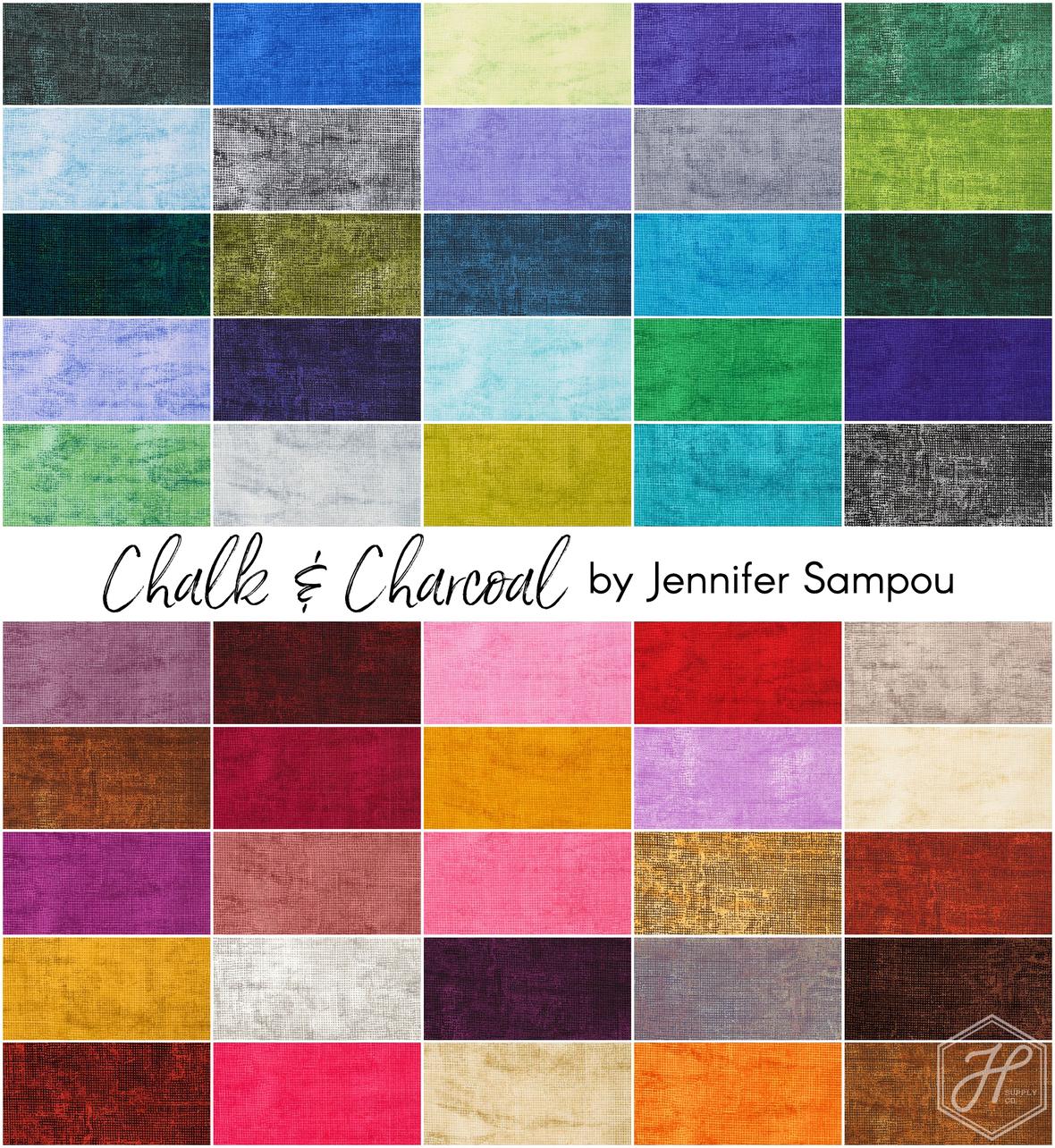 Chalk and Charcoal fabric by Jennifer Sampou at Hawthorne Supply Co.