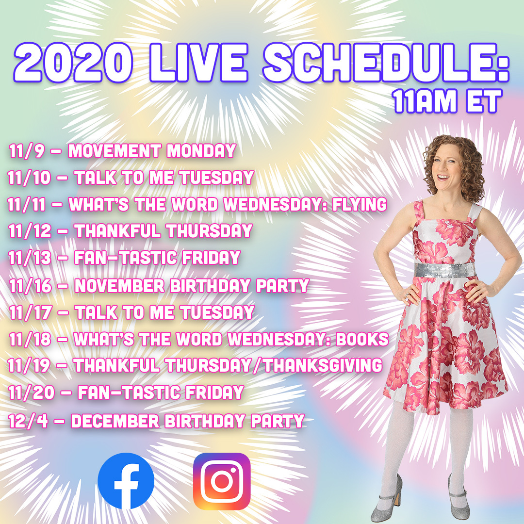 FB IG Live 2020 Schedule - SQ