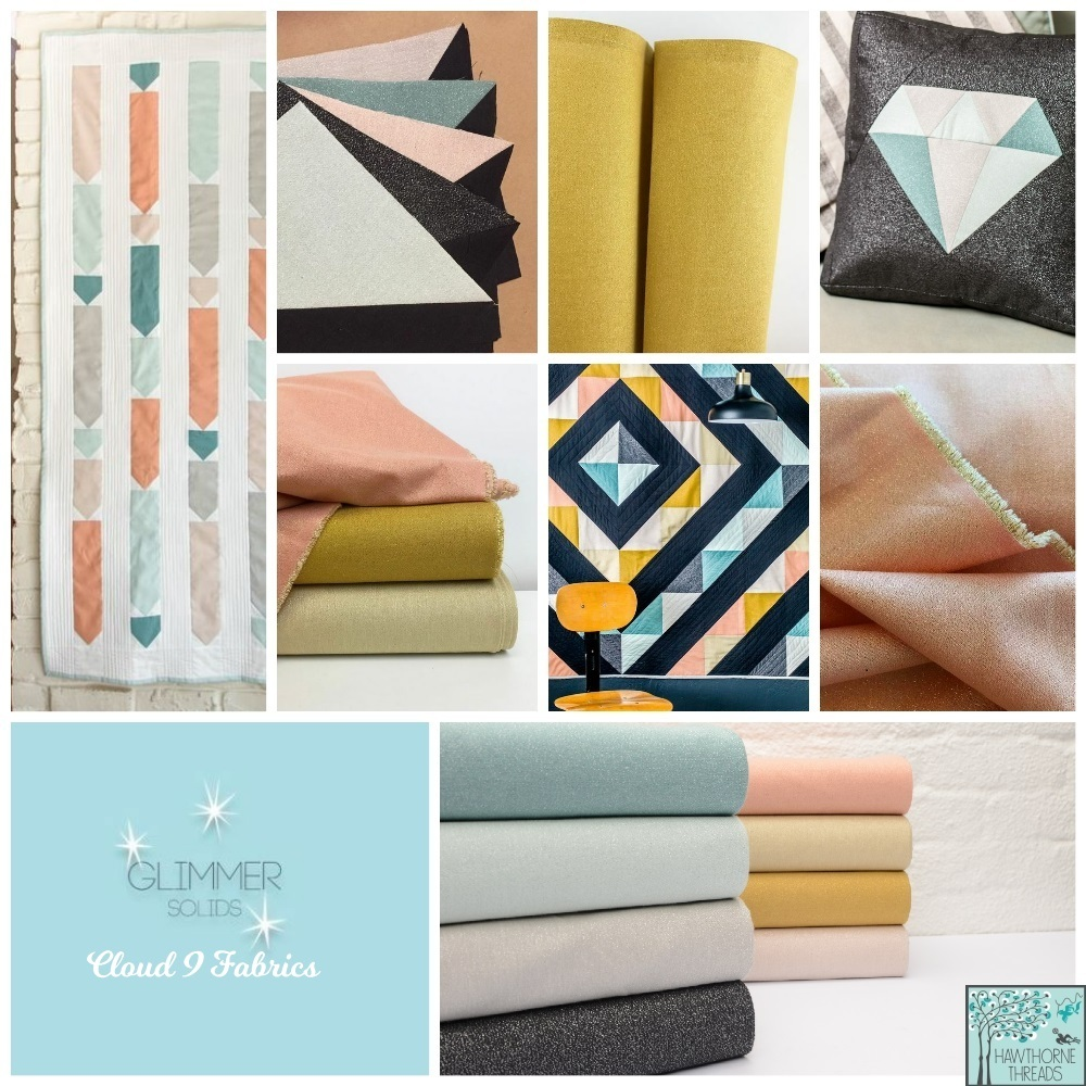 Glimmer Solids Fabric Poster