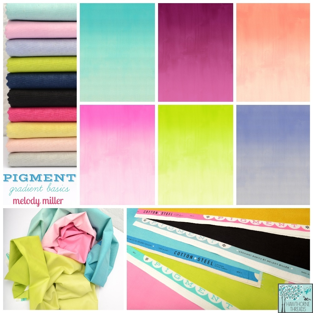 Pigment Fabric Poster