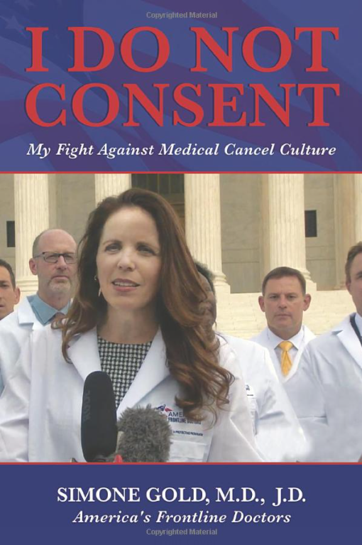 American Frontline Doctors - Canceling Thanksgiving Won't Combat COVID Book_Consent