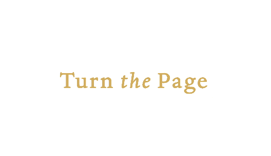 Turn the page overlay