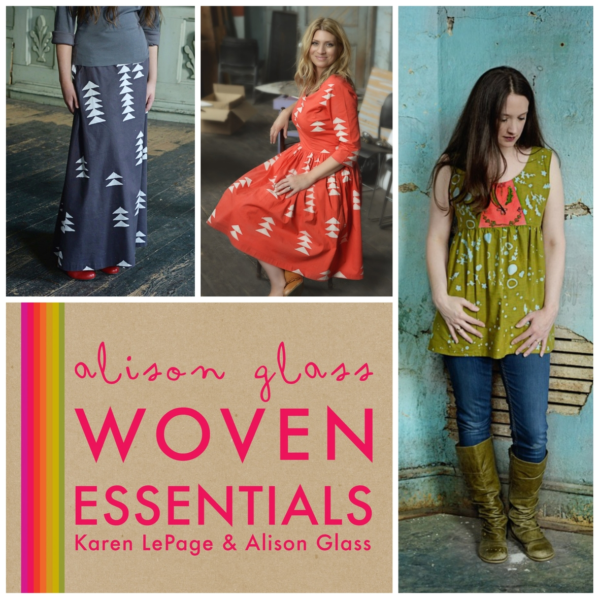 alison glass woven essentials sewing pattern