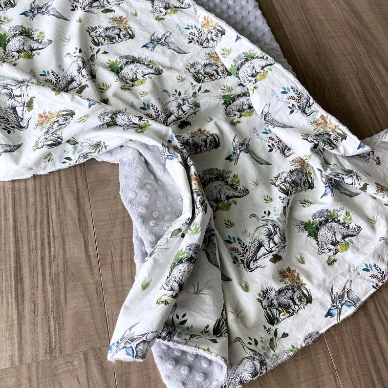 Shopcabin Dinosaur Fabric from Hawthorne Supply Co