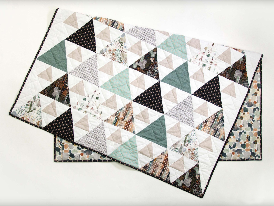 Triangle Peaks Quilty Love Quilt