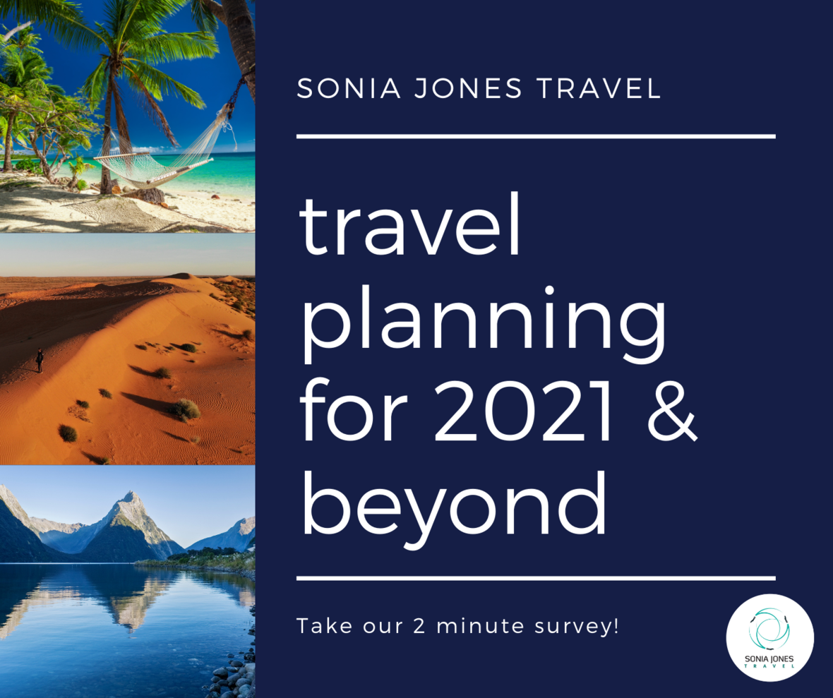 travel planning for 2021 beyond