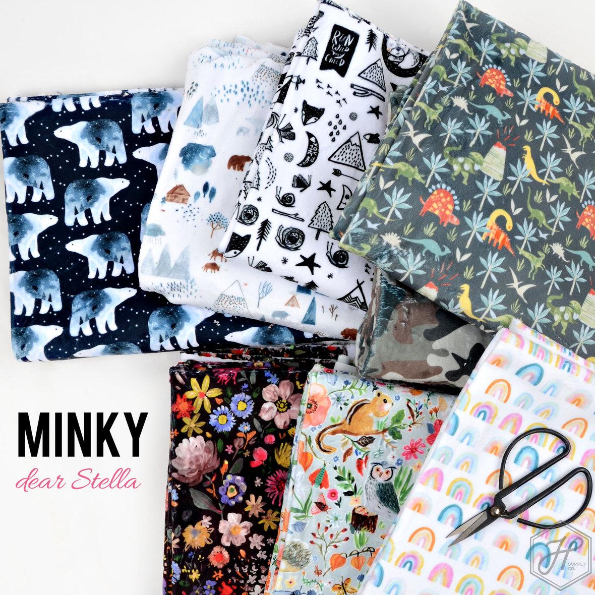 Printed-Minky-by-Dear-Stella-at-Hawthorne-Supply-Co