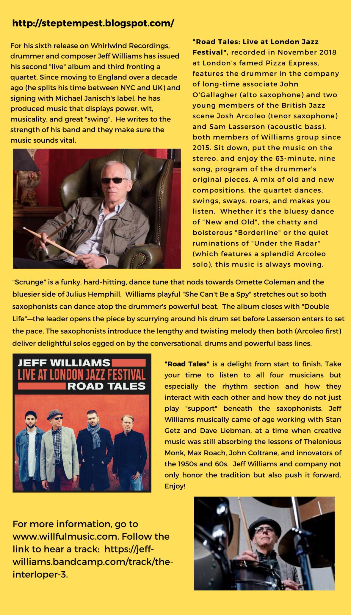 Jeff Williams Steptempest 2