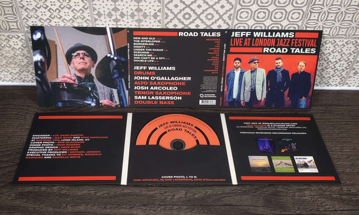 Road Tales Vinyl Full Monty