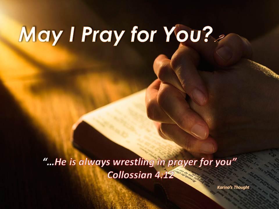 may-i-pray-for-you-karinas-thought