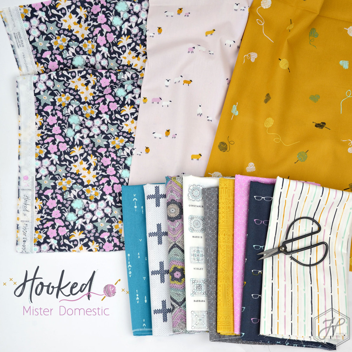Hooked-Fabric-Poster-Mister-Domestic-for-Art-Gallery-at-Hawthorne-Supply-Co