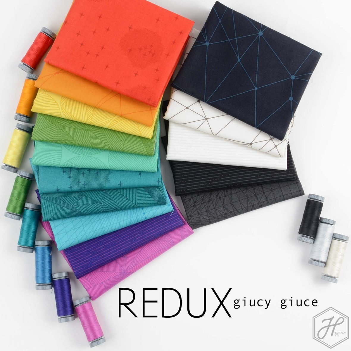Redux Fabric Poster Hawthorne Supply Co and Giucy Giuce
