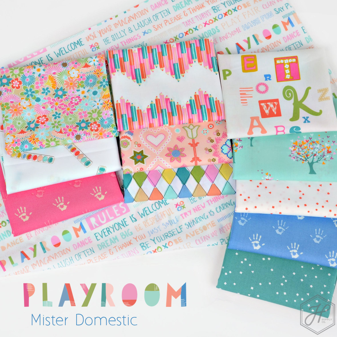 Playroom-Fabric-Poster-Mister-Domestic-for-Art-Gallery-at-Hawthorne-Supply-Co