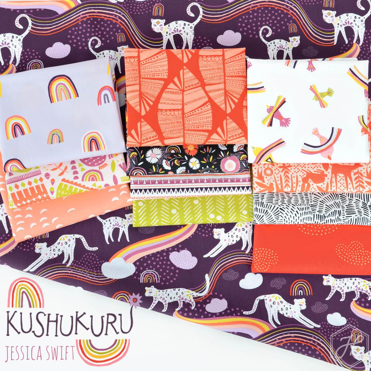 Kushukuru Fabric Jessica Swift for Art Gallery at Hawthorne Supply Co