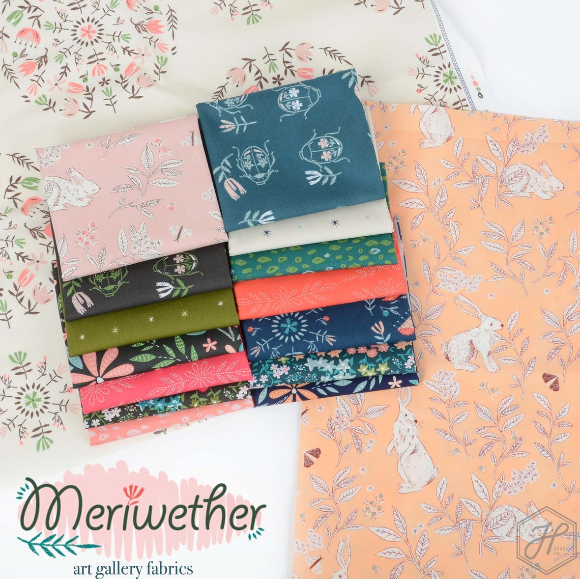 Meriwether Fabric Poster
